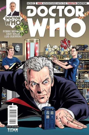TWELFTH DOCTOR # 3​ (The WHO Shop Edition)​