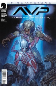 Alien vs. Predator: Fire and Stone #4 - Thought Provoking End to The Series