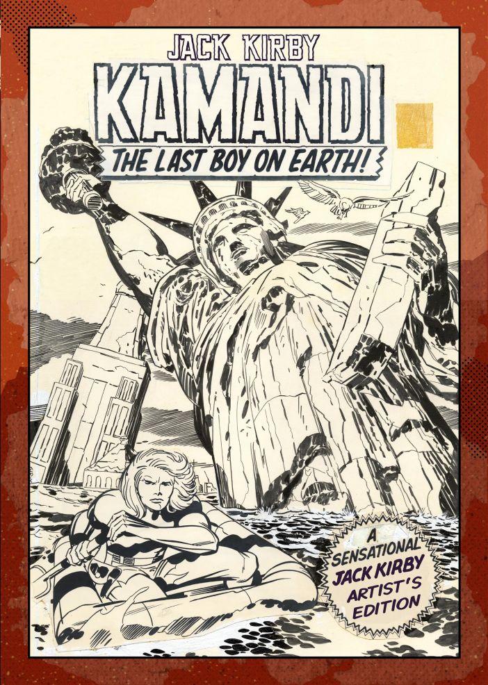 Jack Kirby's Kamandi get an Artist's Edition!