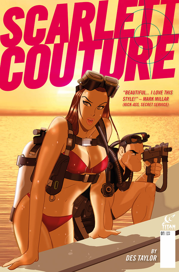 Des Taylor's Scarlett Couture - Filled with Action and Style!