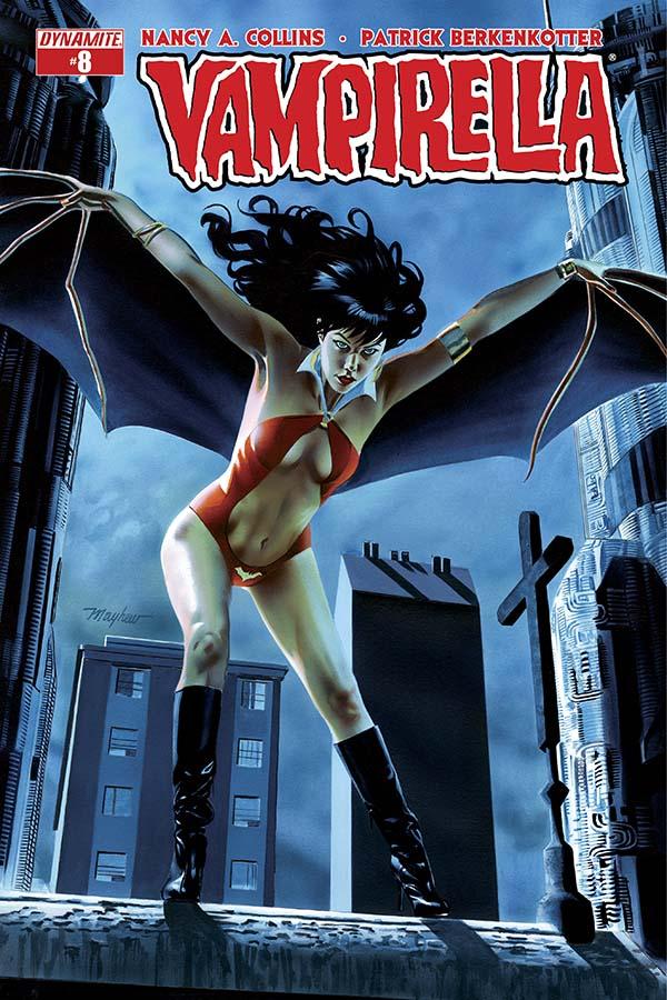 Vampirella #8 Adds a Dash of Literary Intrigue!
