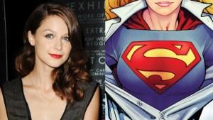 Melissa Benoist as CBS' 'Supergirl'? image via variety.com