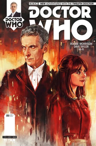 Titan's Twelfth Doctor #5 Preview: Sci-Fi on an Epic Scale