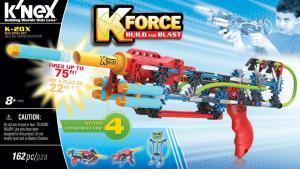 K-FORCE Build and Blast: K-20X Building Set