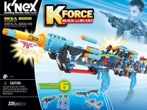 K-FORCE Build and Blast: Mega Boom Building Set