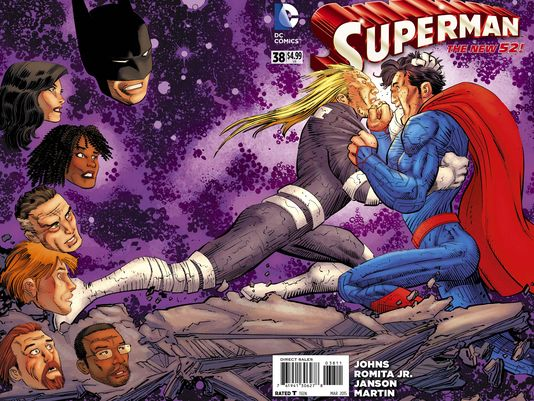 2 Fans, 1 Comic - A Spoiler-Riddled Look at Superman #38!
