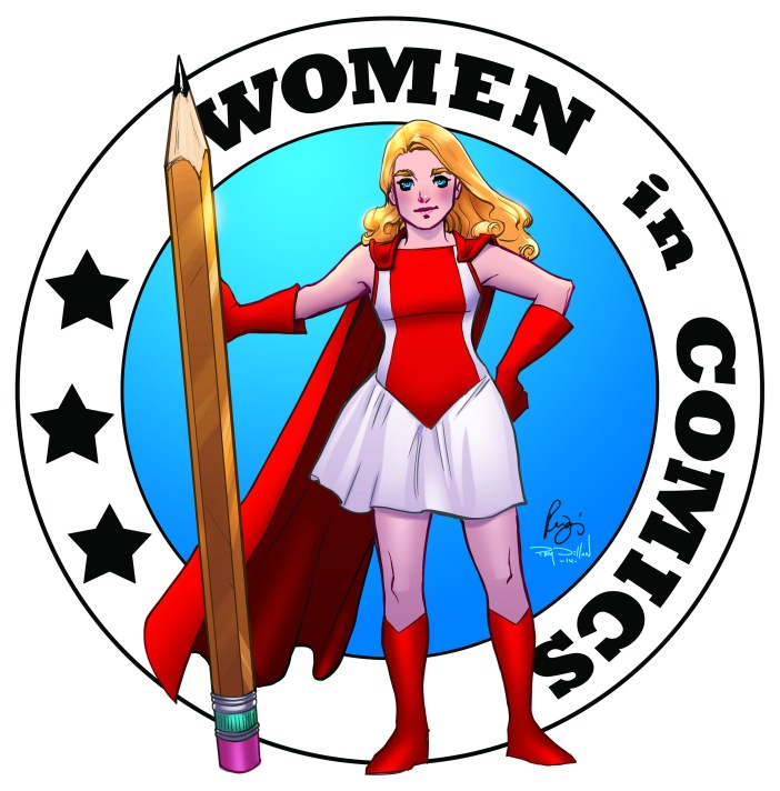 Women In Comics Logo