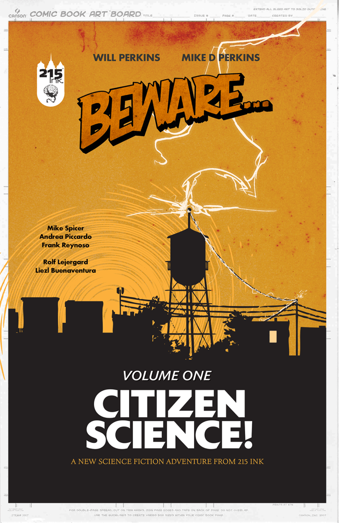 BEWARE... VOL. 1 Trade Paperback from 215 Ink!