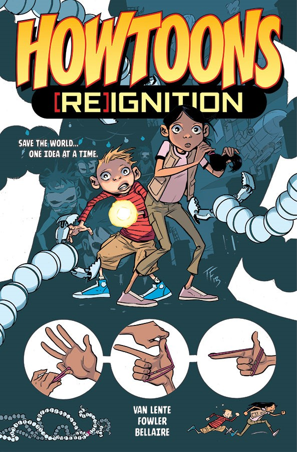 HowToons [Re]Ignition - MakerSpaces will save the world!