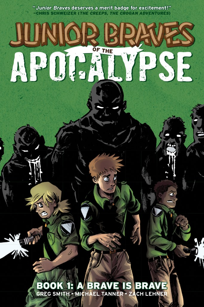 Junior Braves of the Apocalypse! From Oni Press