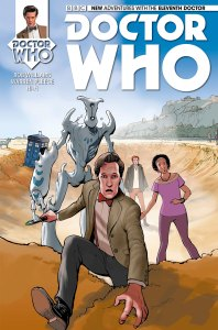 Titan's Eleventh Doctor Who Comic Continues To Impress!