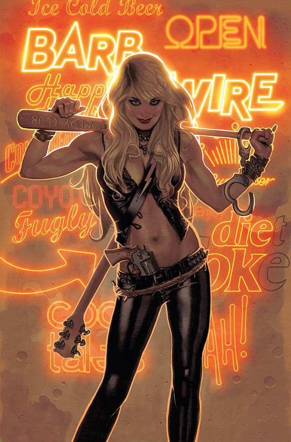 Barb Wire #1 - A Brand New Babe...