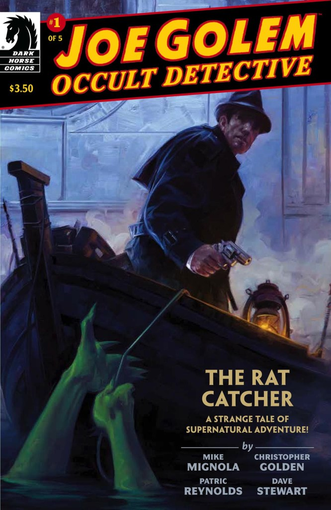 Mike Mignola Returns to the occult with Joe Golem!