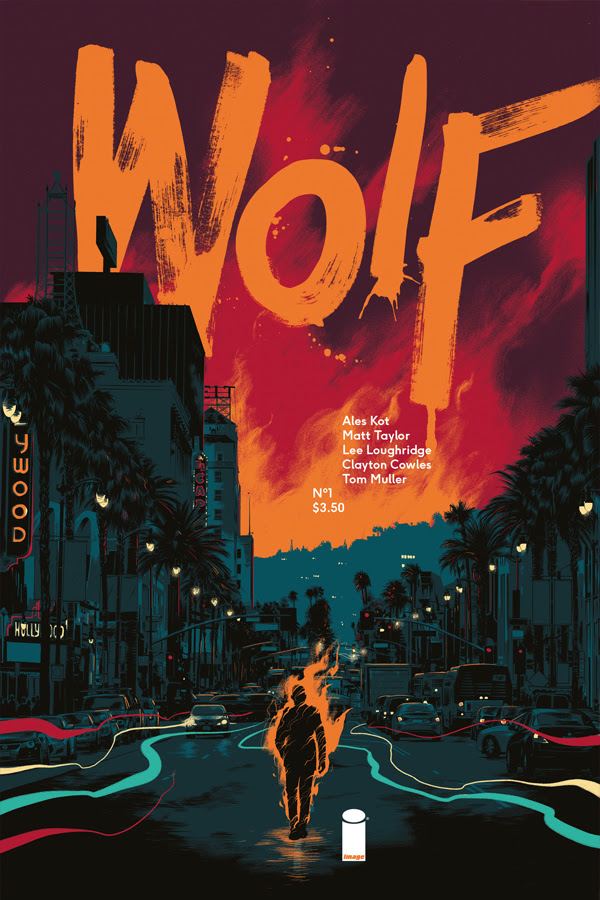 WOLF is coming this July! From Image Comics