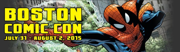 Boston Comic Con - 21 Days and Counting!