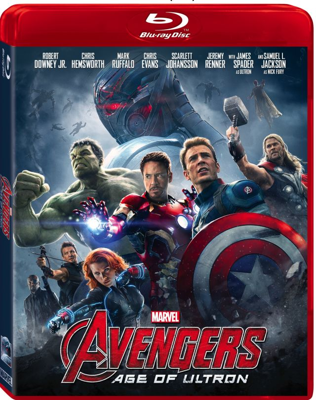 Avengers: Age of Ultron Blu-Ray/DVD Announced!