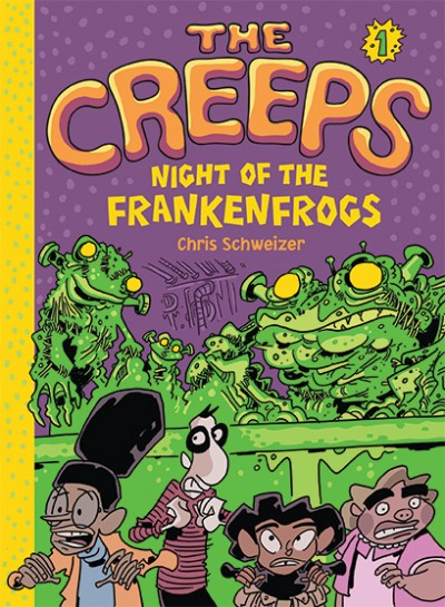 The Creeps - New kids Series From Abrams!