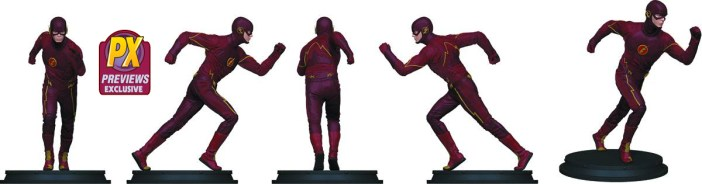 Let The Flash, The Arrow, or The Atom Guard Your Desk!