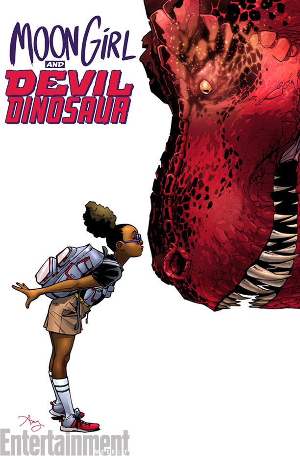 Moon Girl and Devil Dinosaur: Cool your jets! It ain't what ya think!!