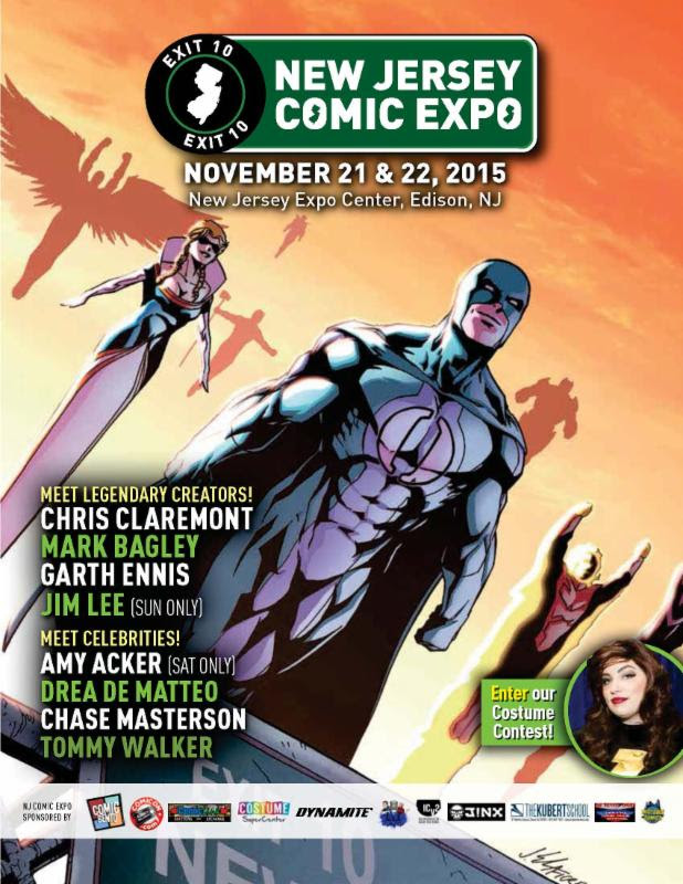 This Weekend at New Jersey Comic Expo