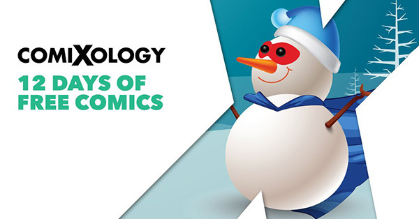 The ComiXology 12 Days of FREE Comics Event!