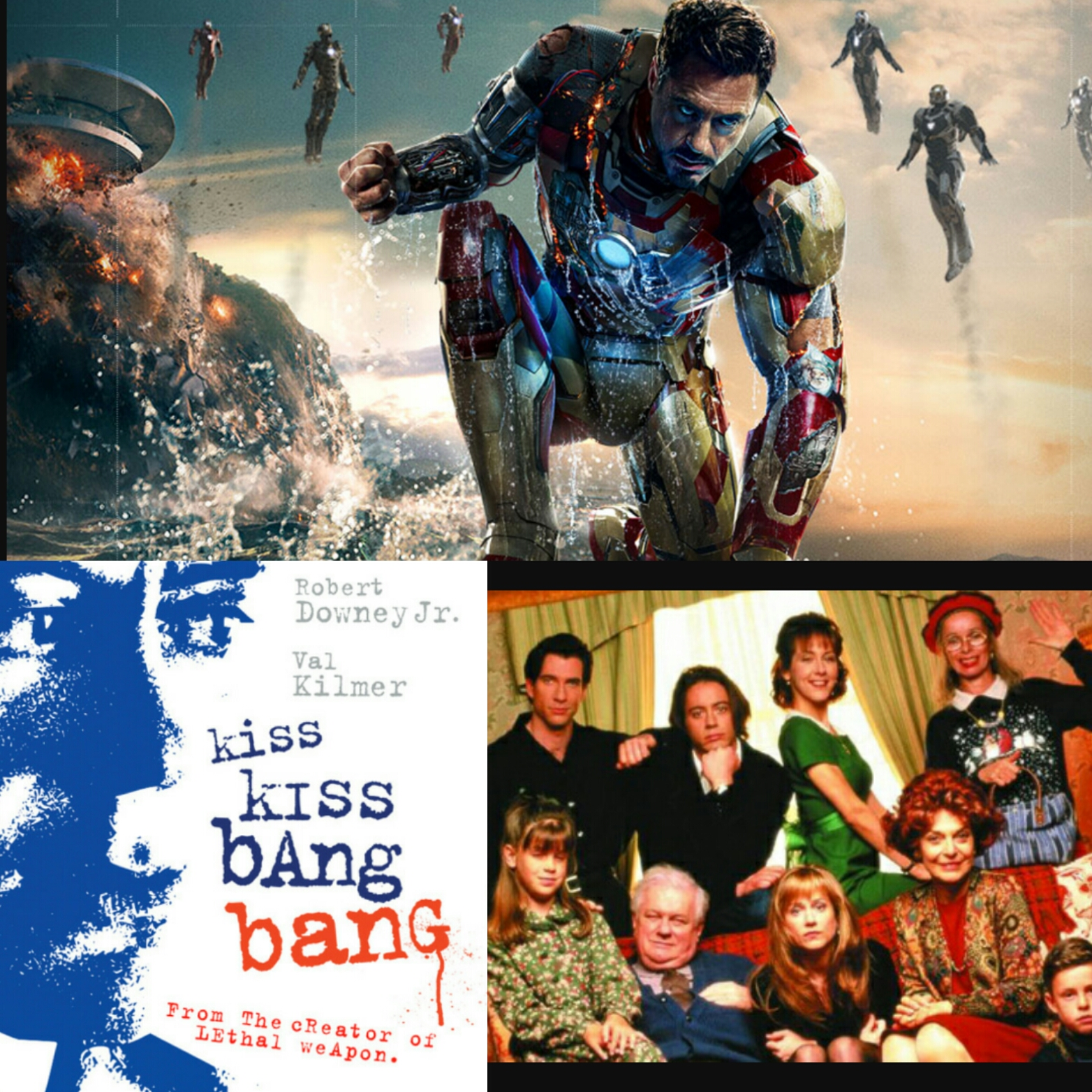 A Very Merry Robert Downey Jr Christmas! ~ What'cha Reading?