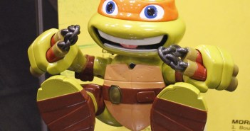 Playmates Teenage Mutant Ninja Turtles! - Toy Fair 2016