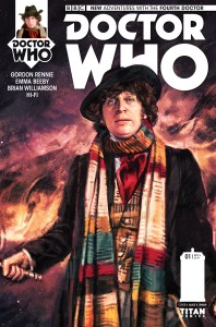 Tom Baker Comes to Comics! DOCTOR WHO: THE FOURTH DOCTOR #1