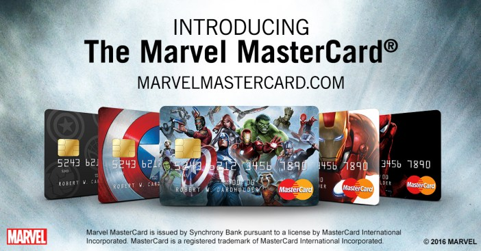 The Marvel MasterCard®, Is it in you wallet?