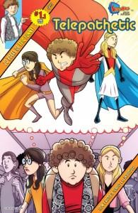 Telepathetic - A Teen Angsty Superhero Comedy From Sitcomics