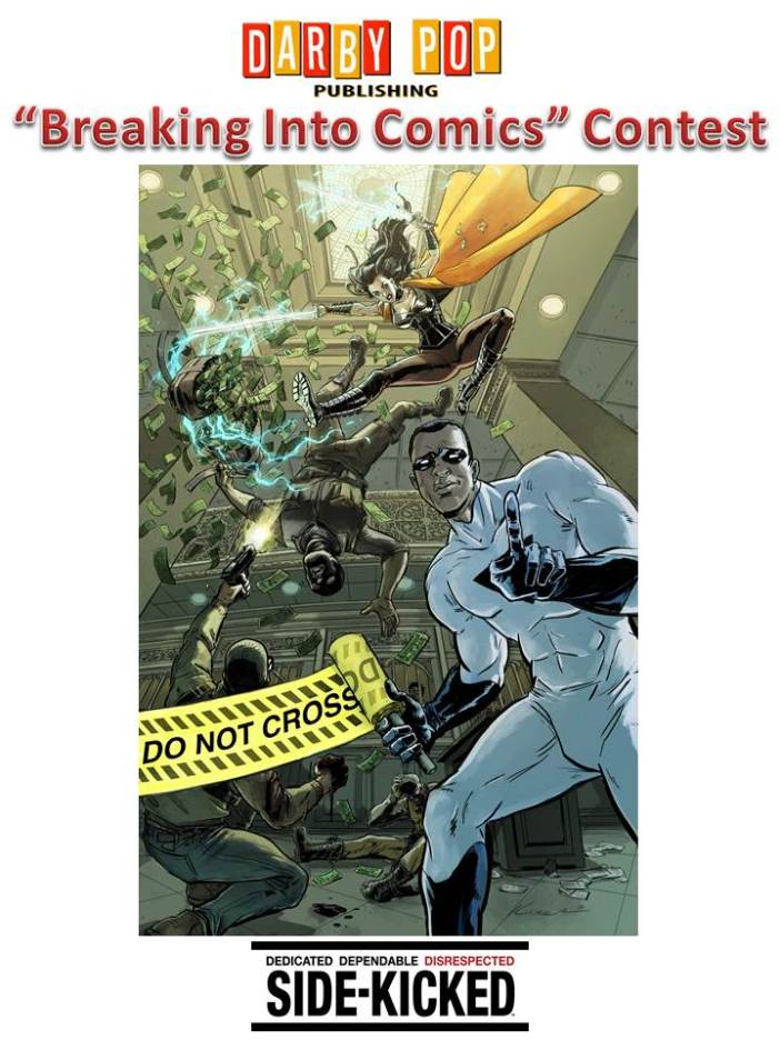 Darby Pop Breaking into Comics Contest
