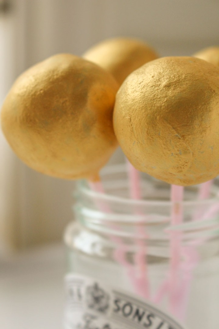 Chocolate Cake Pops! Made with leftover cake crumbs and frosting. Easy to make and very cute :)