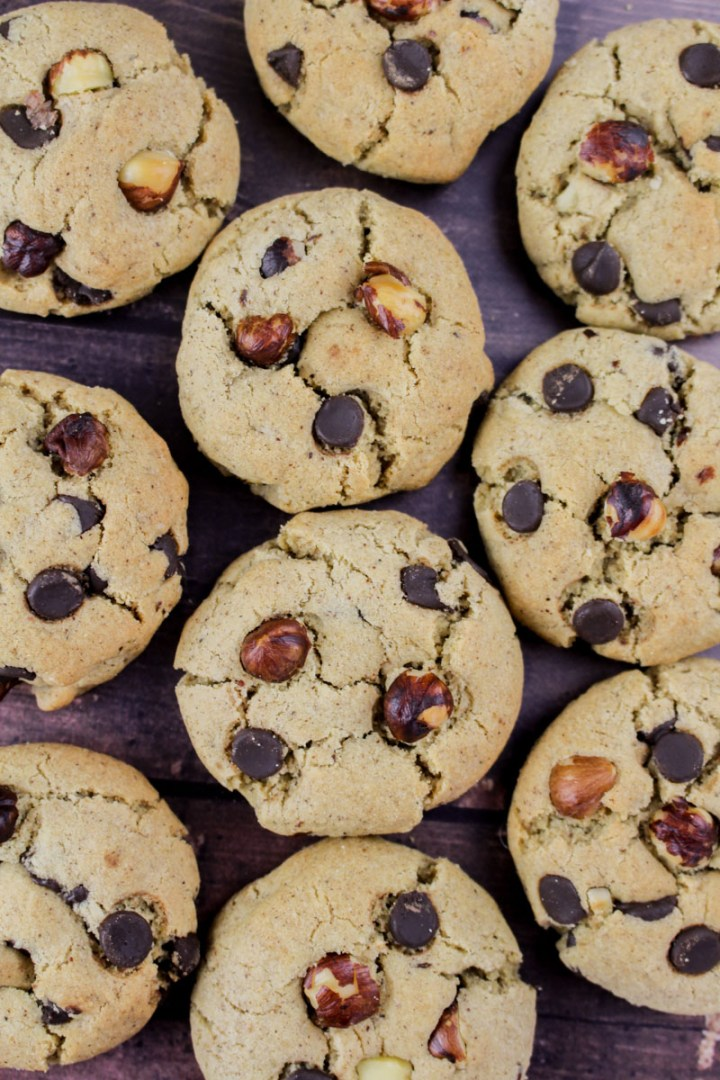 Hazelnut Chocolate Cookies | What Charlotte Baked