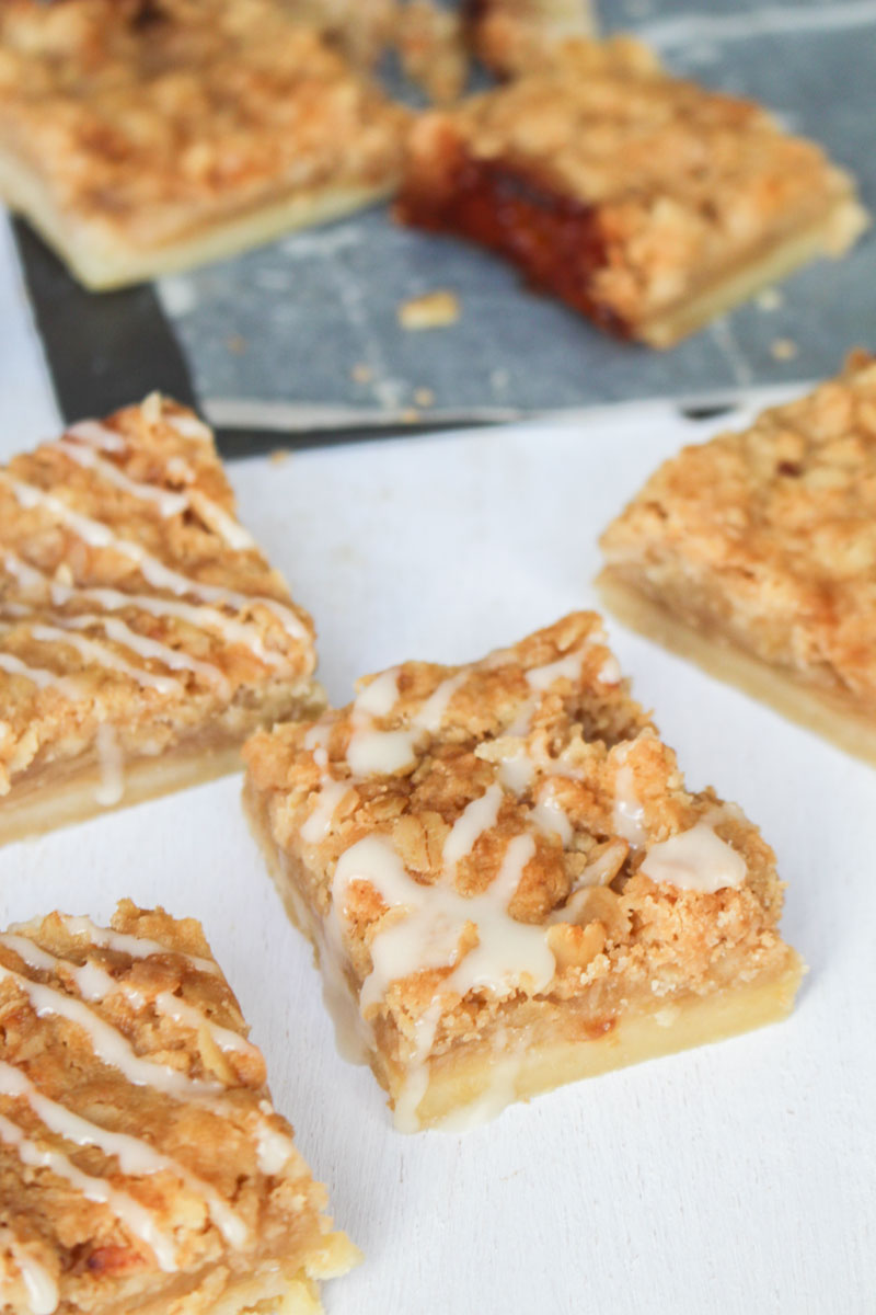 Caramel Apple Bars | What Charlotte Baked