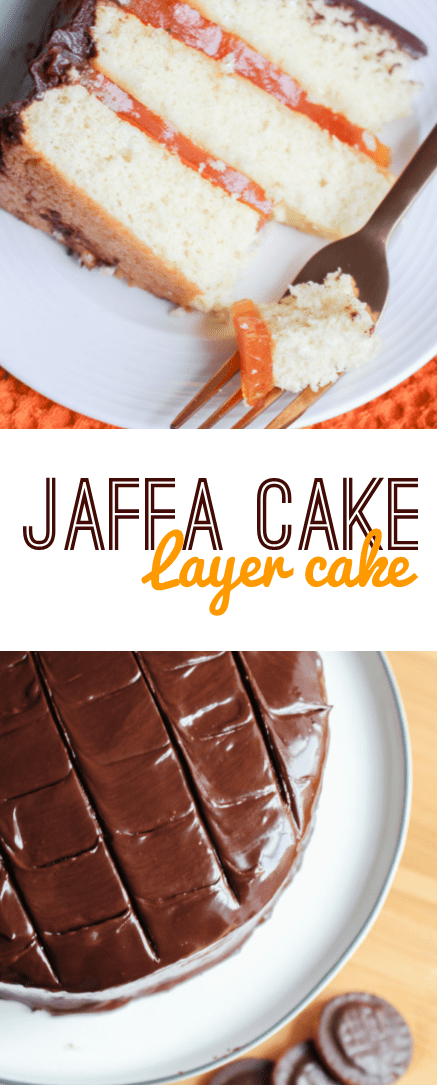 Jaffa Cake Layer Cake | What Charlotte Baked