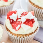 Strawberry Eton Mess Cupcakes