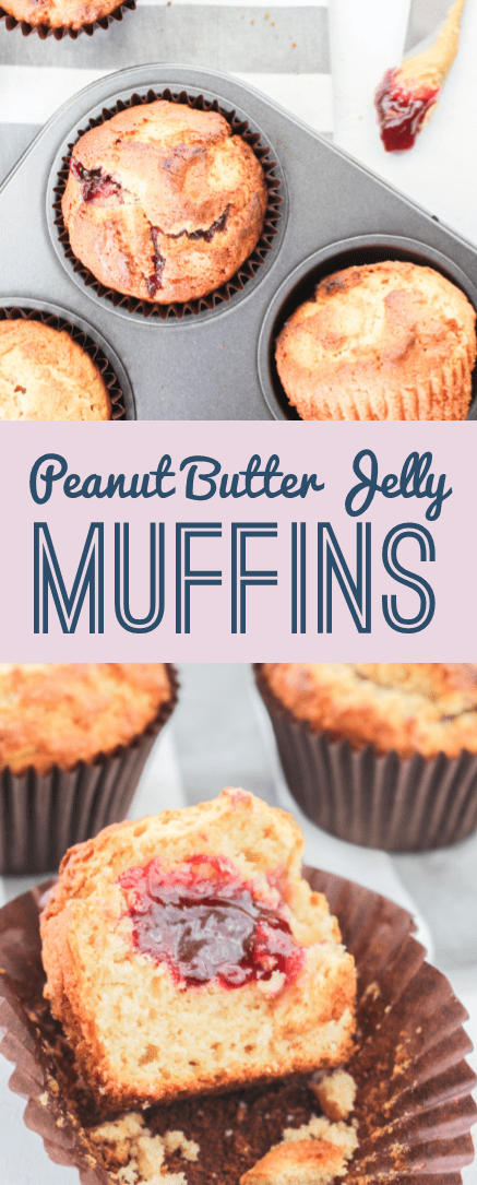 Peanut Butter Jelly Muffins | What Charlotte Baked