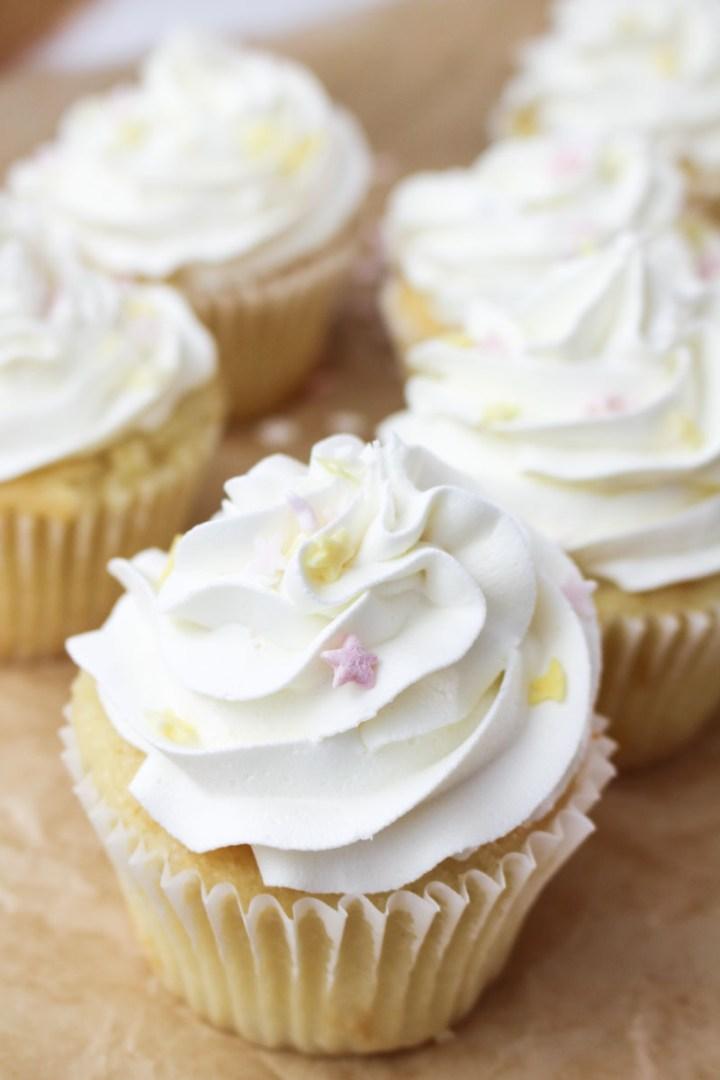 White Vanilla Buttercream   What Charlotte Baked