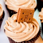 Chocolate Bourbon Biscuit Cupcakes