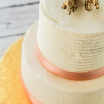 Almond Layer Cake with Almond Buttercream recipe | What Charlotte Baked