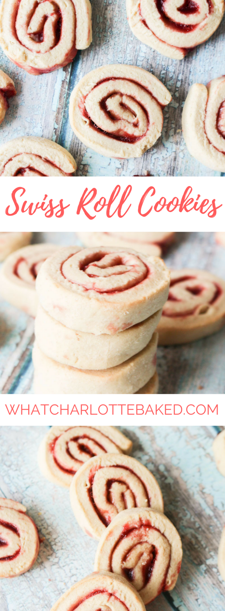 Swiss Roll Cookies recipe | What Charlotte Baked