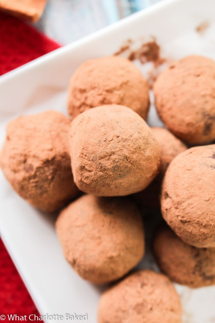 Mulled Wine Chocolate Truffles recipe | What Charlotte Baked