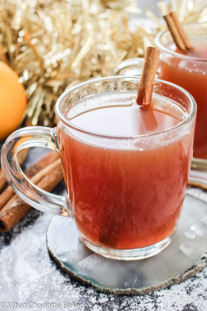 Mulled Winter Punch (Non-Alcoholic) recipe | What Charlotte Baked
