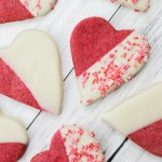 Raspberry White Chocolate Sugar Cookies