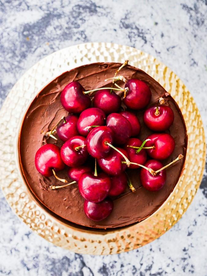 Black Forest Naked Cake recipe   What Charlotte Baked