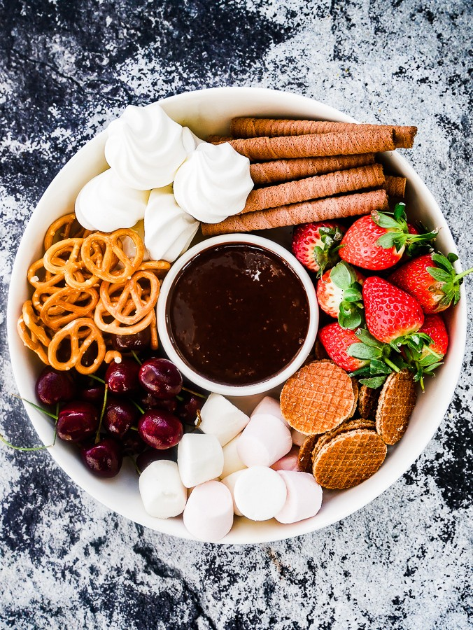 Boozy Chocolate Dipping Sauce recipe | What Charlotte Baked