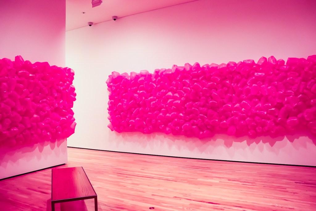 Maren Hassinger's 'Pink Trash'