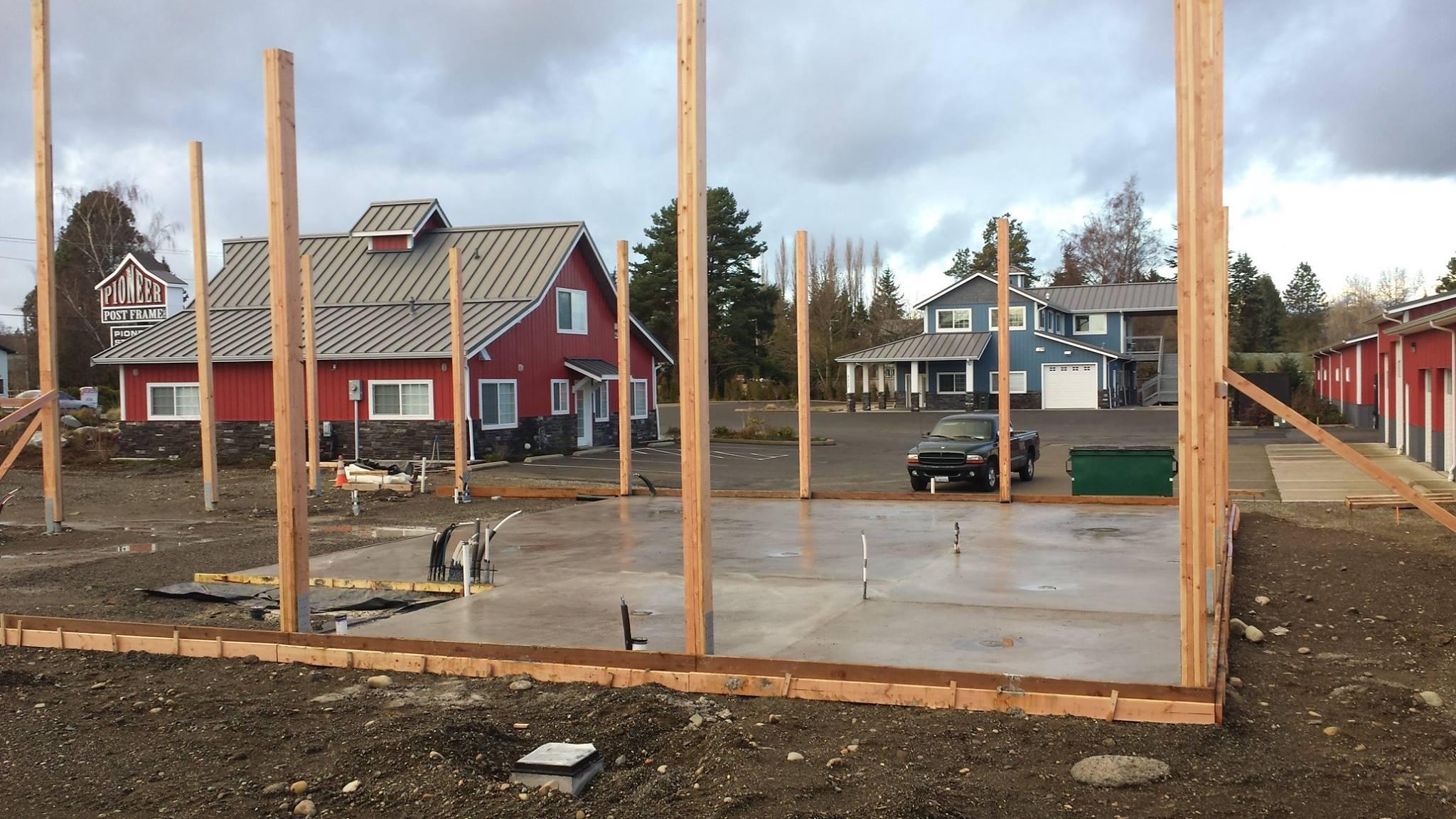 Building under construction file photo (2015). My Ferndale News