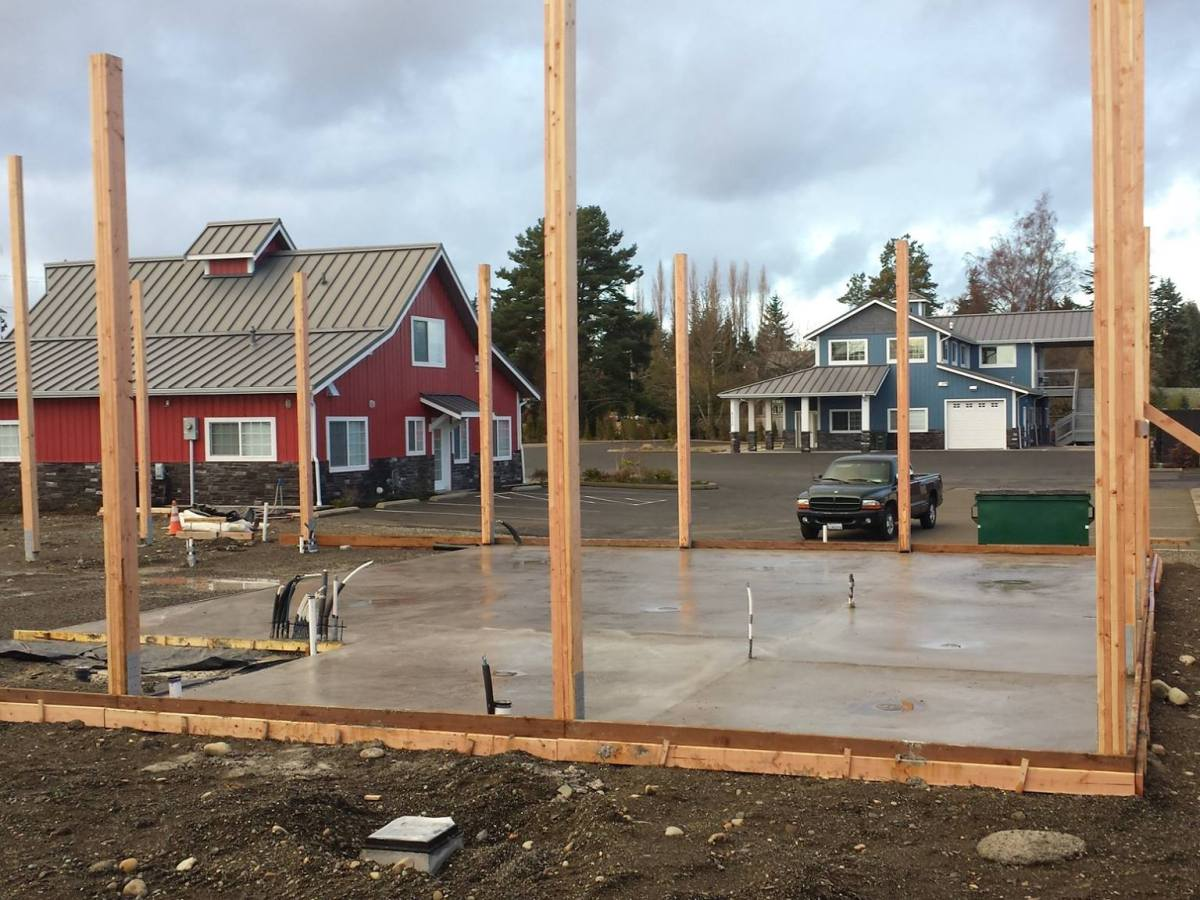 Building under construction file photo (2015). Whatcom News
