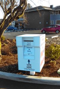 city hall ballot drop box